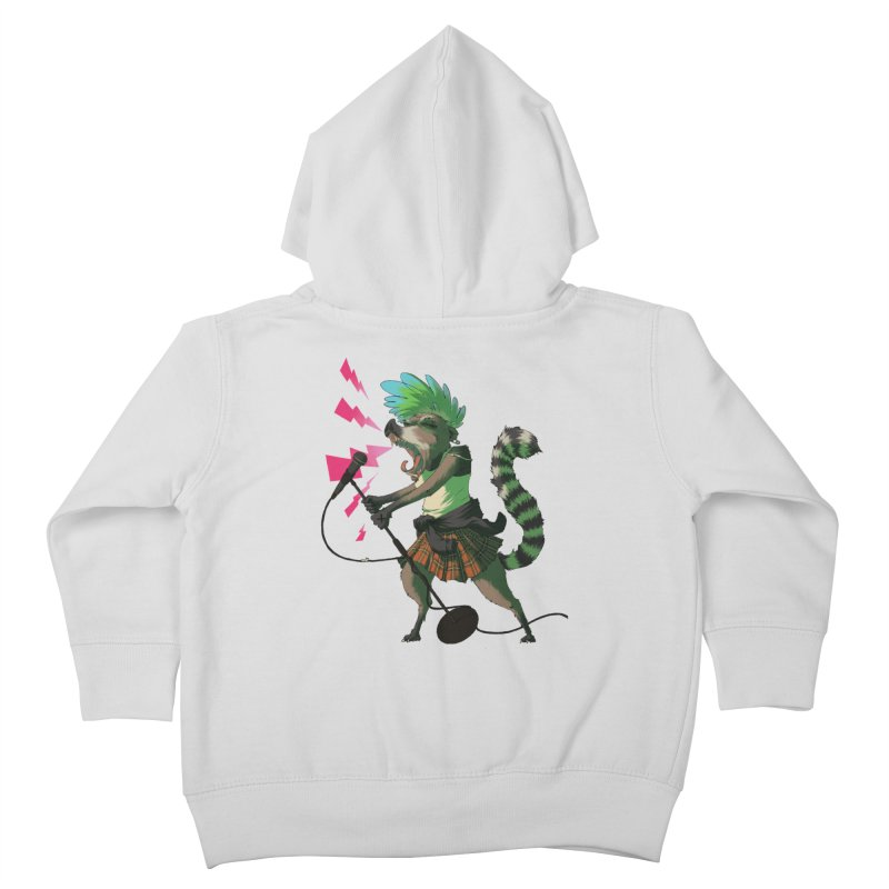 C is for Coatimundi Kids Toddler Zip-Up Hoody by mcthrill's Artist Shop