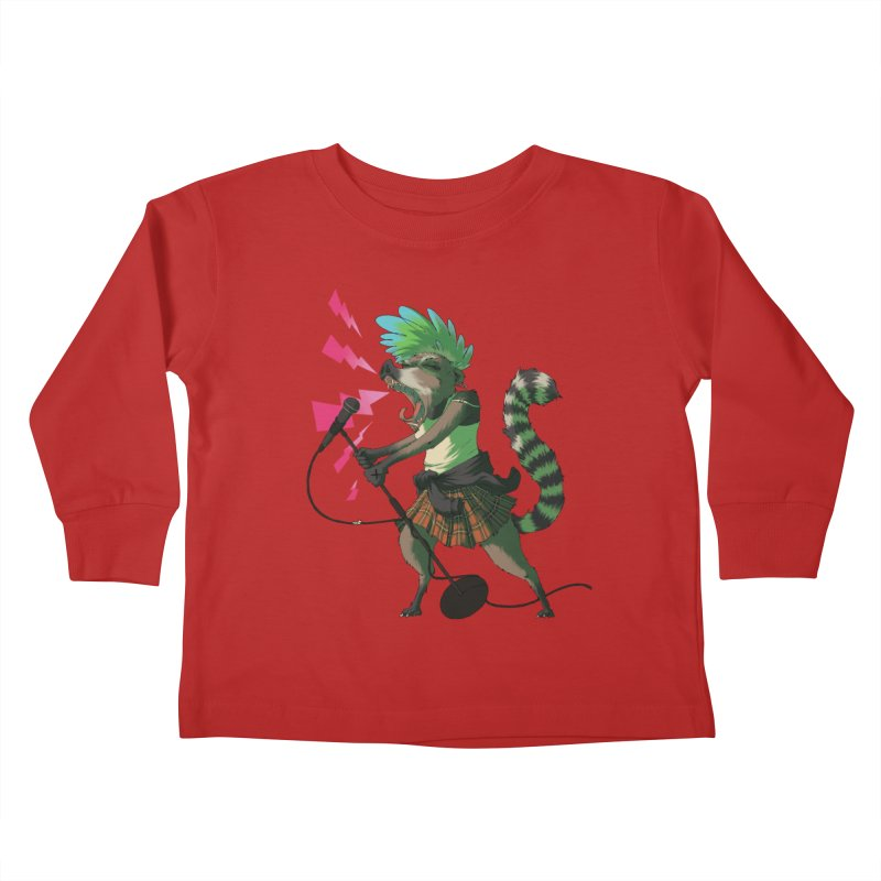 C is for Coatimundi Kids Toddler Longsleeve T-Shirt by mcthrill's Artist Shop