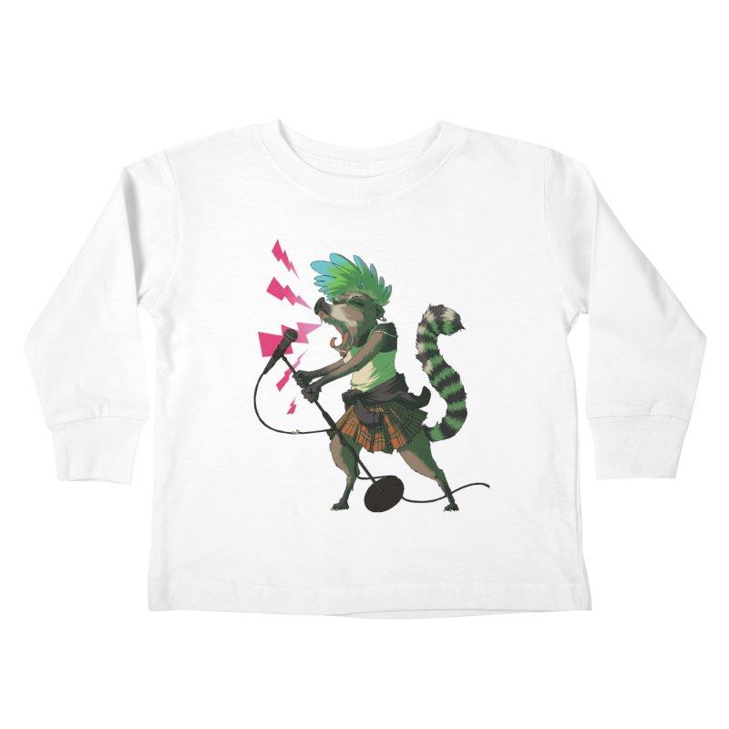 C is for Coatimundi Kids Toddler Longsleeve T-Shirt by mcthrill's Artist Shop
