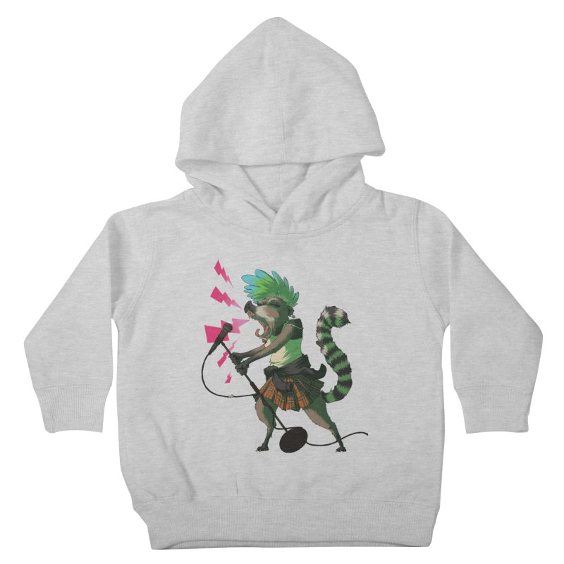 C is for Coatimundi Kids Toddler Pullover Hoody by mcthrill's Artist Shop