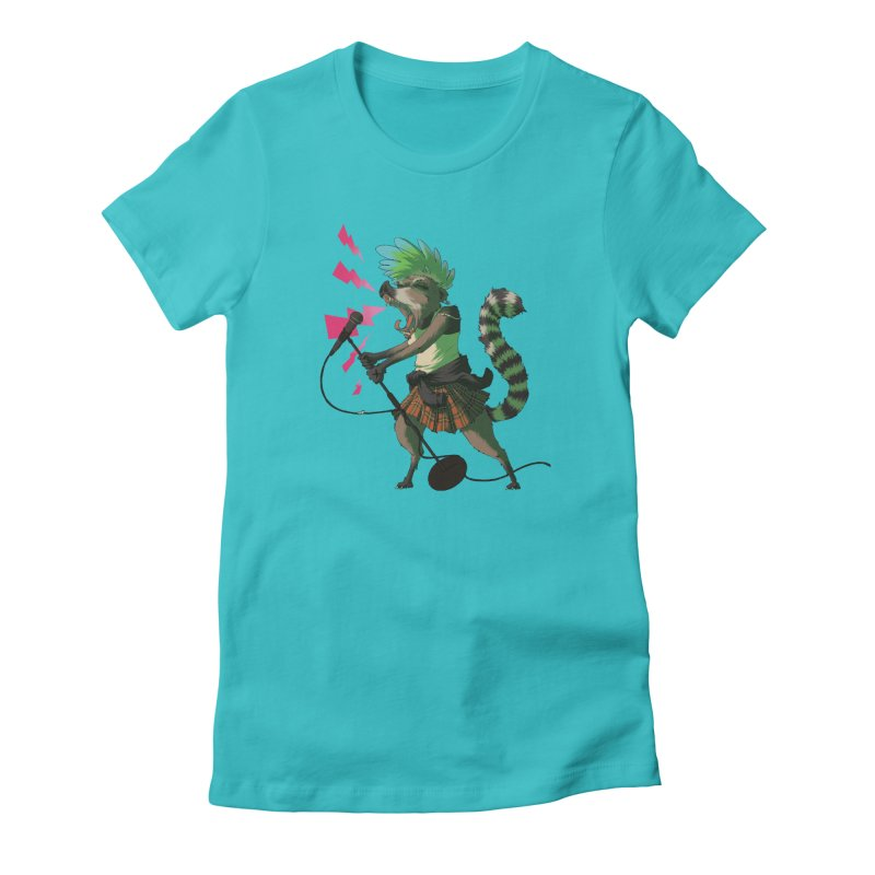 C is for Coatimundi Women's Fitted T-Shirt by mcthrill's Artist Shop