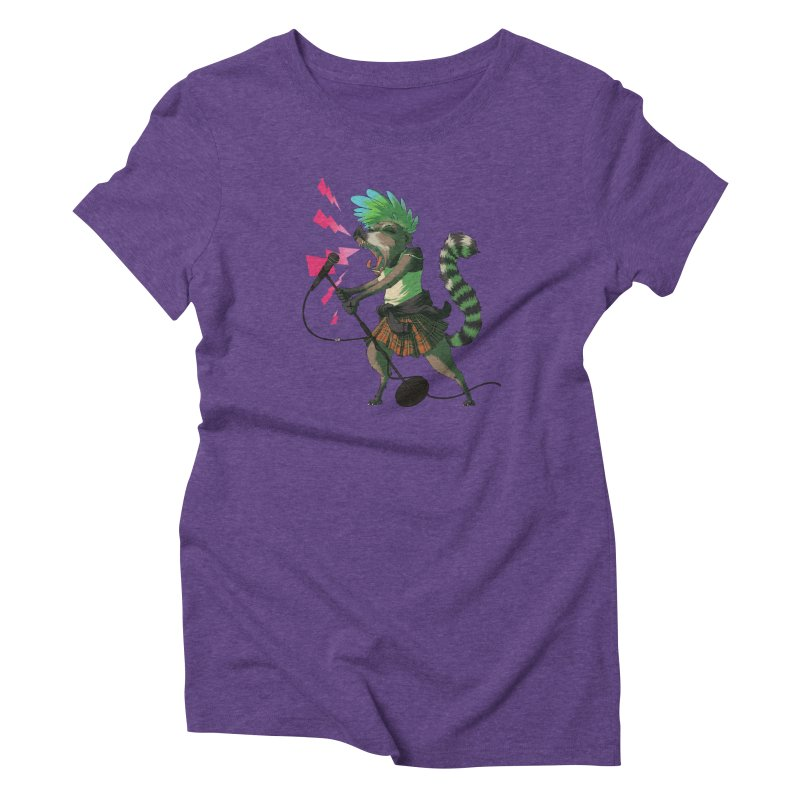 C is for Coatimundi Women's Triblend T-shirt by mcthrill's Artist Shop