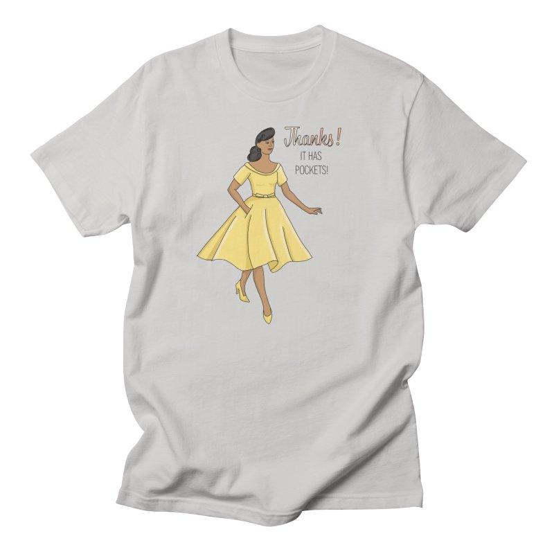 Thanks! It Has Pockets (cinnamon) Men's T-Shirt by MC Woll Designs's Artist Shop
