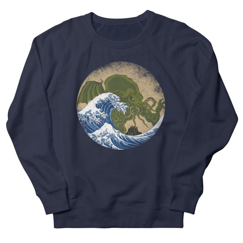 Hokusai Cthulhu  Women's French Terry Sweatshirt by Mdk7's Artist Shop