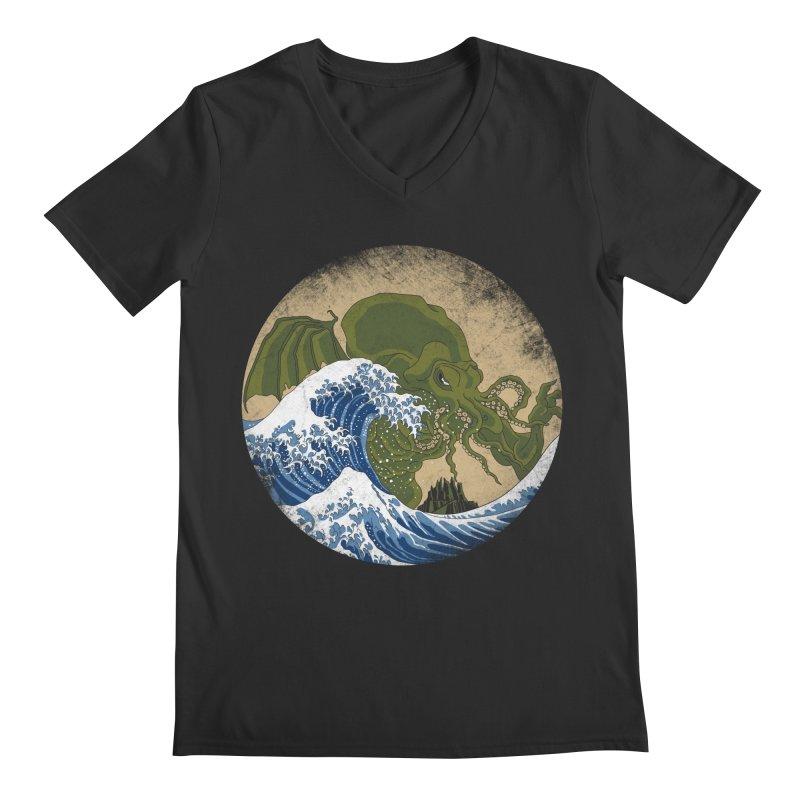 Hokusai Cthulhu  Men's  by Mdk7's Artist Shop