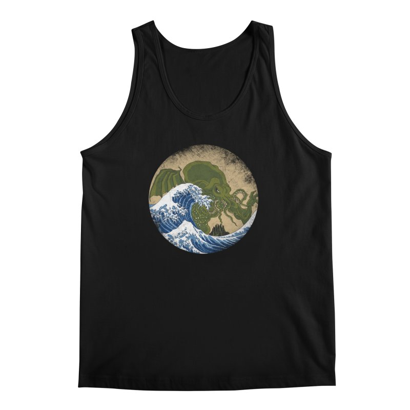 Hokusai Cthulhu  Men's Regular Tank by Mdk7's Artist Shop