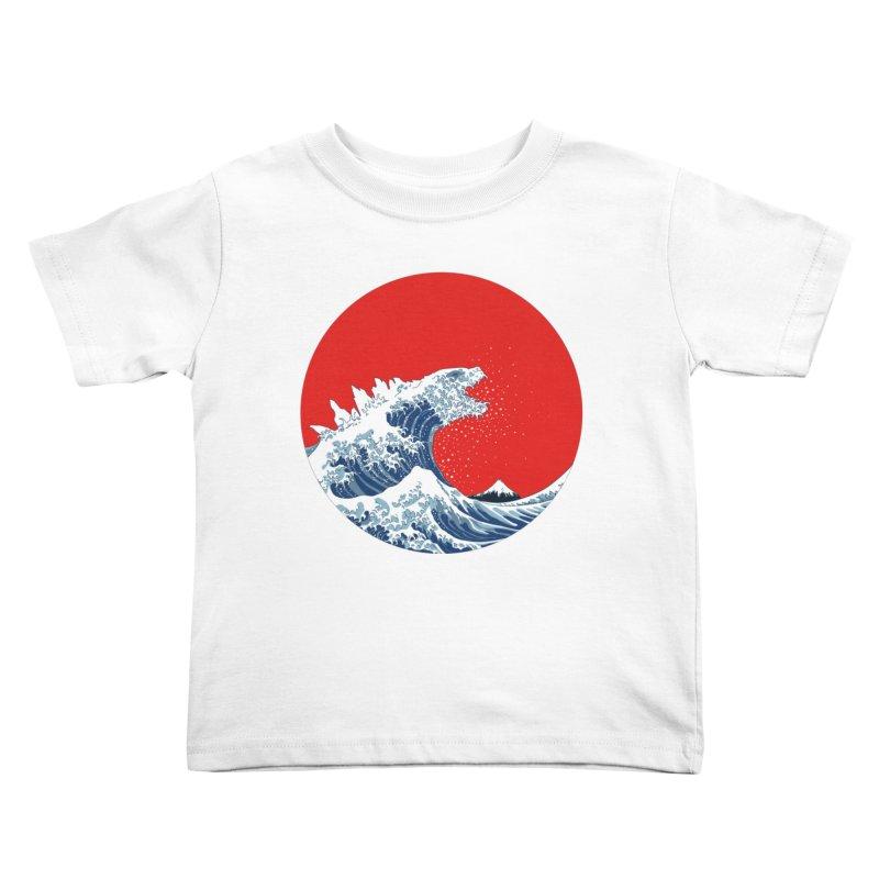 Hokusai Kaiju Kids  by Mdk7's Artist Shop