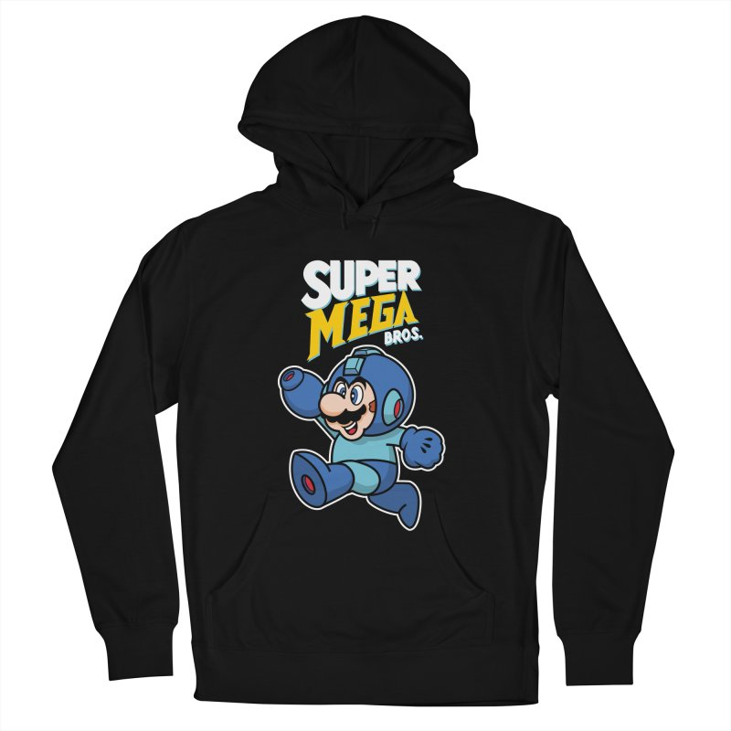 Super Mega Bros  Women's Pullover Hoody by Mdk7's Artist Shop