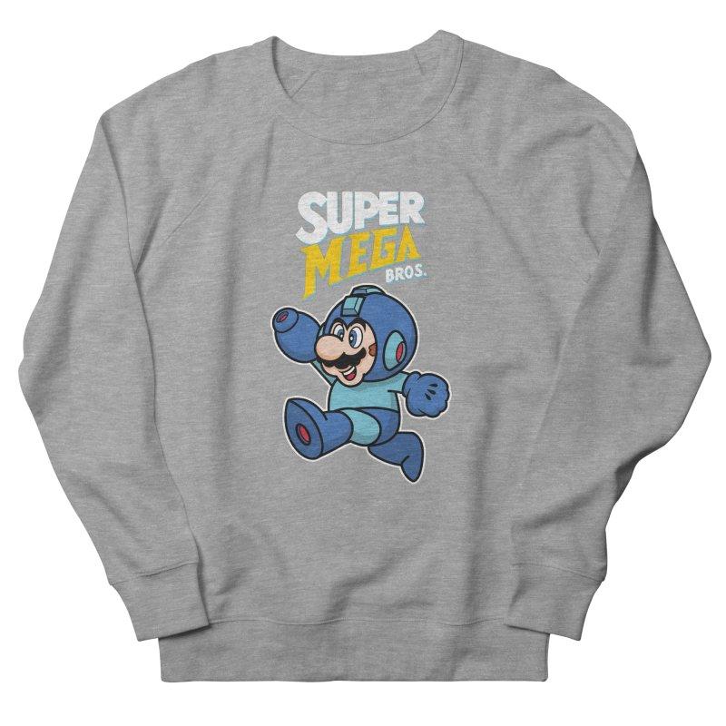 Super Mega Bros  Women's French Terry Sweatshirt by Mdk7's Artist Shop