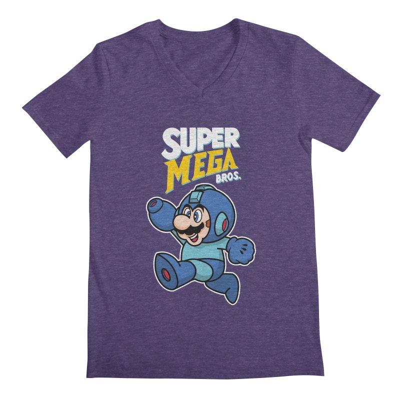 Super Mega Bros  Men's  by Mdk7's Artist Shop