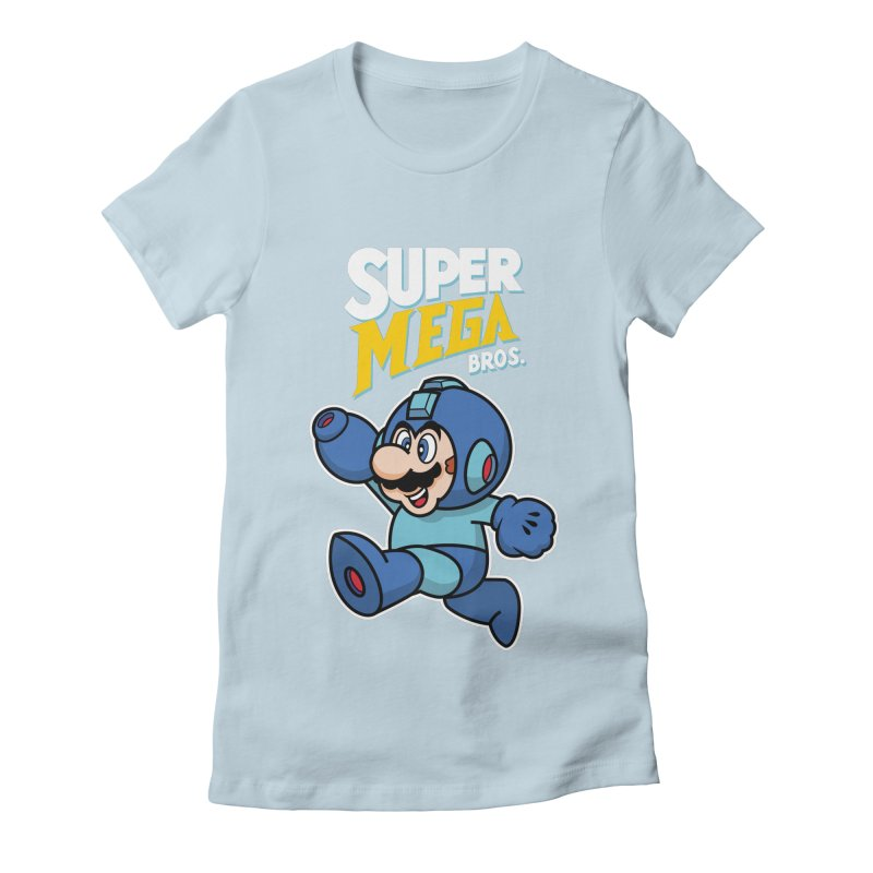 Super Mega Bros  Women's  by Mdk7's Artist Shop