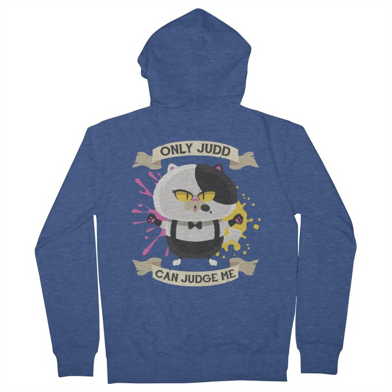 Only Judd Can Judge Me Women's French Terry Zip-Up Hoody by Mdk7's Artist Shop
