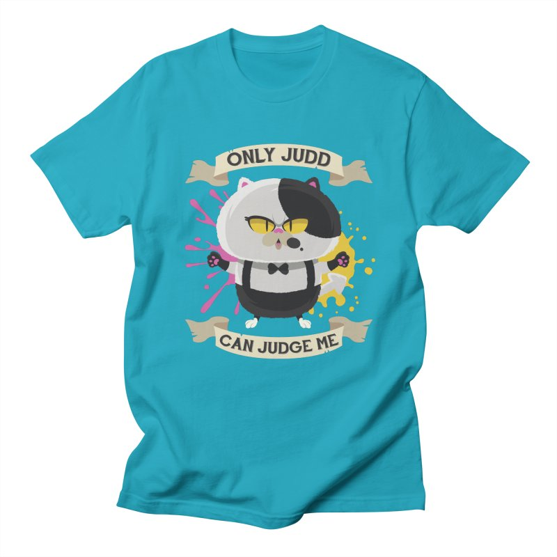 Only Judd Can Judge Me Men's T-Shirt by Mdk7's Artist Shop