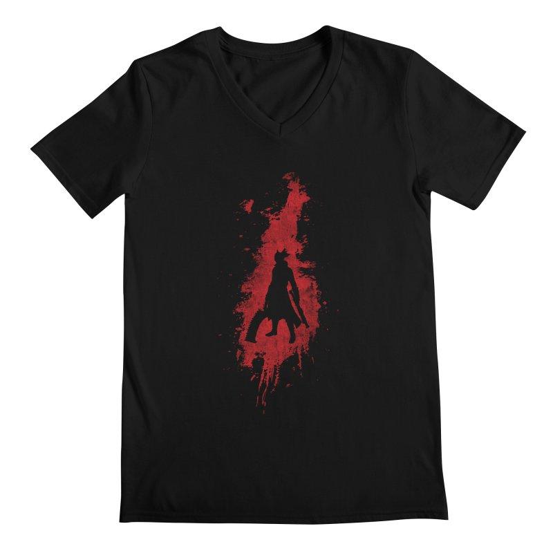 Born in Blood Men's Regular V-Neck by Mdk7's Artist Shop