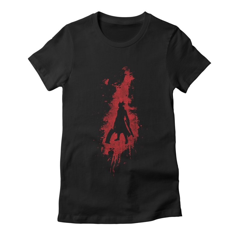 Born in Blood Women's Fitted T-Shirt by Mdk7's Artist Shop