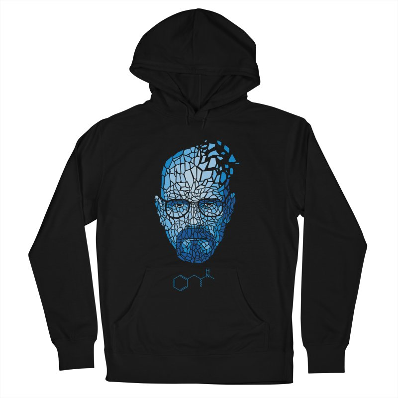Crystal Heisenberg Men's French Terry Pullover Hoody by Mdk7's Artist Shop