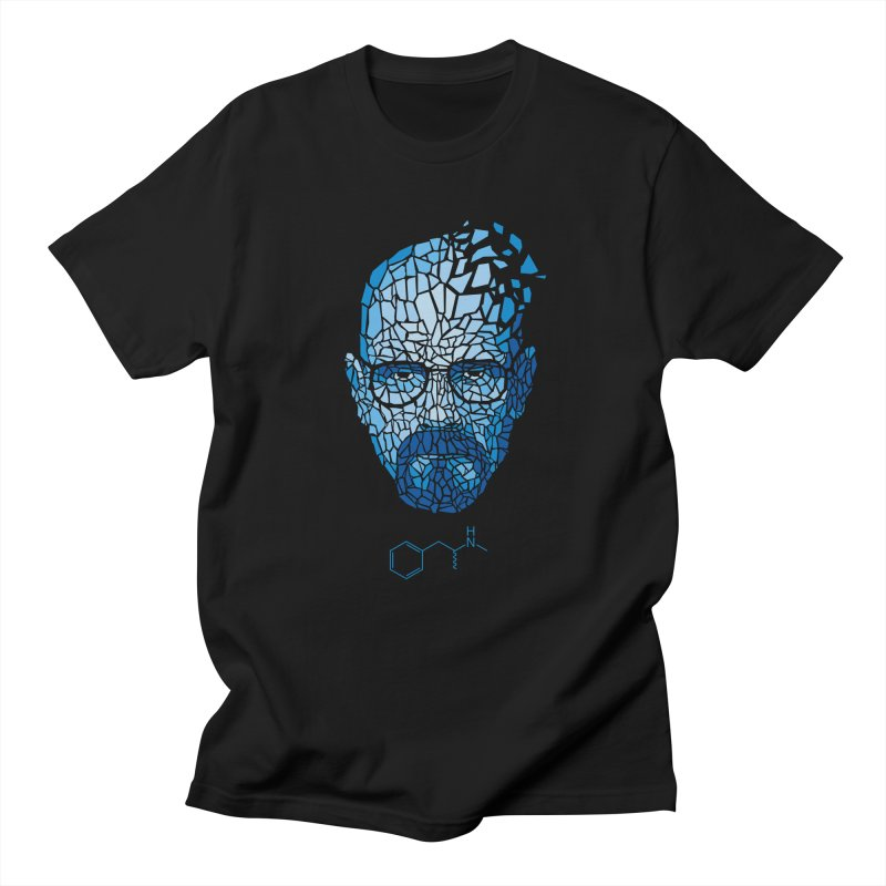 Crystal Heisenberg Men's Regular T-Shirt by Mdk7's Artist Shop