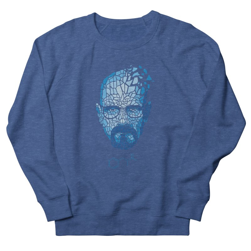 Crystal Heisenberg Men's French Terry Sweatshirt by Mdk7's Artist Shop