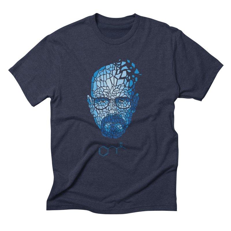 Crystal Heisenberg Men's Triblend T-Shirt by Mdk7's Artist Shop