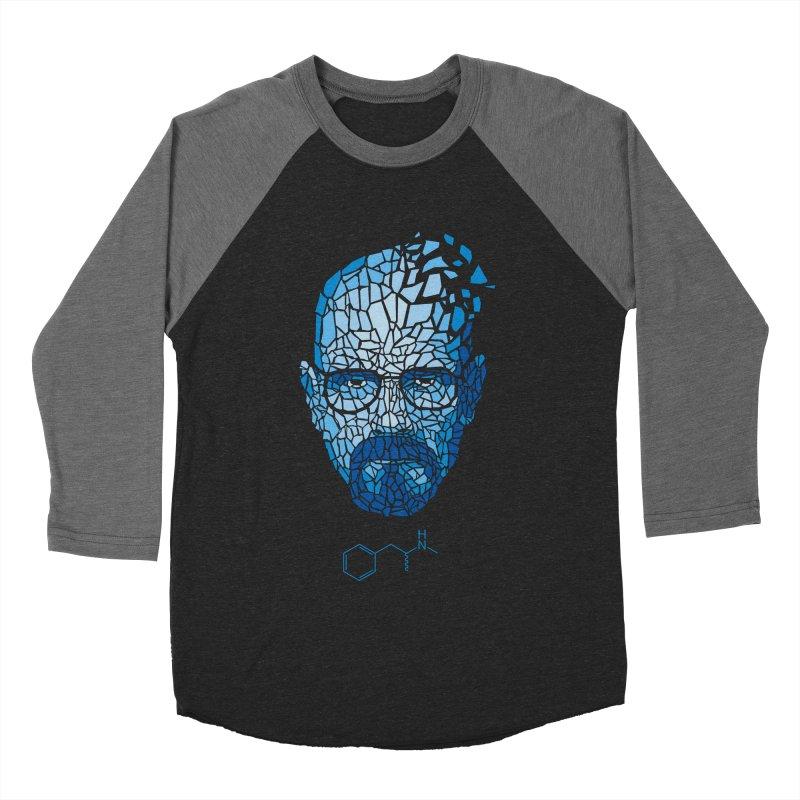 Crystal Heisenberg Men's Baseball Triblend T-Shirt by Mdk7's Artist Shop