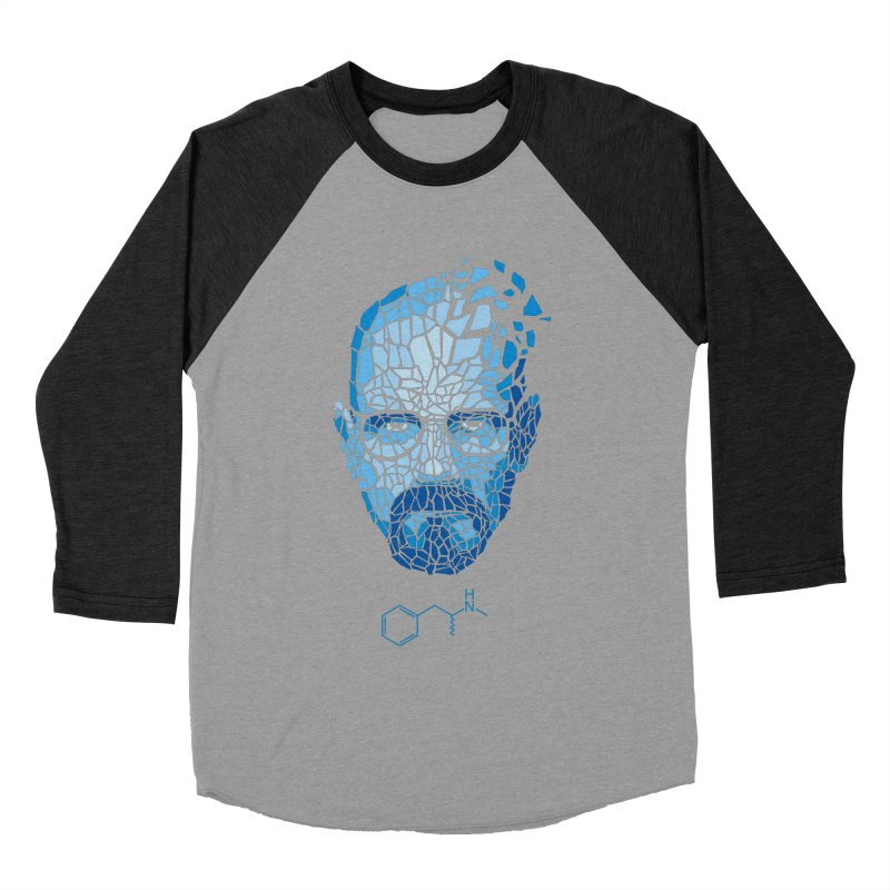 Crystal Heisenberg Men's Baseball Triblend T-Shirt by Mdk7's Artist Shop