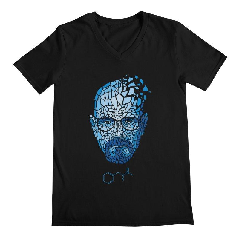 Crystal Heisenberg Men's Regular V-Neck by Mdk7's Artist Shop