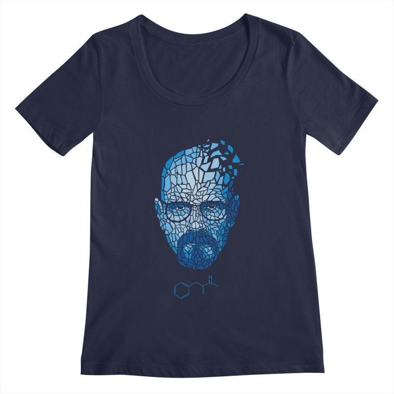 Crystal Heisenberg Women's Scoopneck by Mdk7's Artist Shop