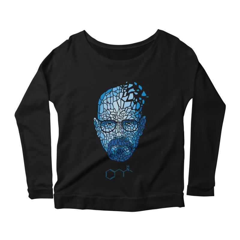 Crystal Heisenberg Women's Scoop Neck Longsleeve T-Shirt by Mdk7's Artist Shop