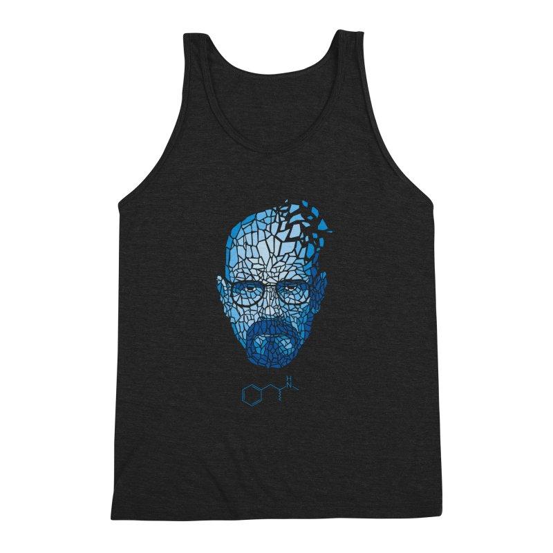 Crystal Heisenberg Men's Triblend Tank by Mdk7's Artist Shop