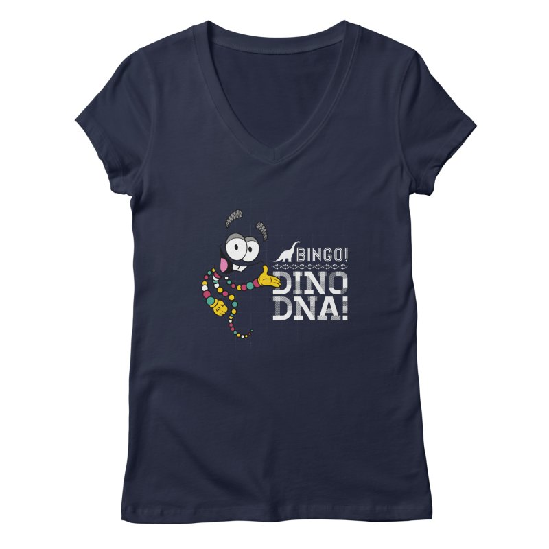 Jurassic Bingo!!! Women's Regular V-Neck by Mdk7's Artist Shop