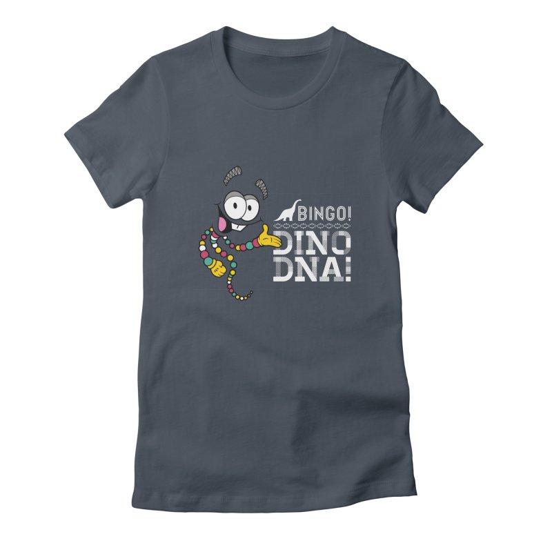 Jurassic Bingo!!! Women's Fitted T-Shirt by Mdk7's Artist Shop