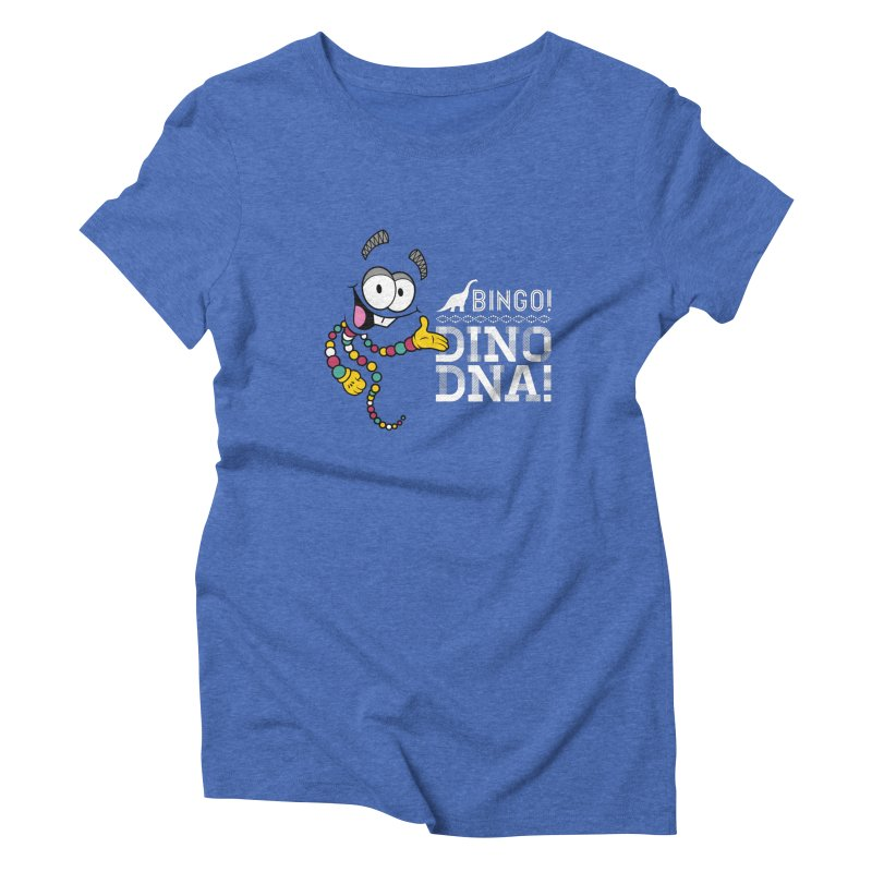 Jurassic Bingo!!! Women's Triblend T-Shirt by Mdk7's Artist Shop