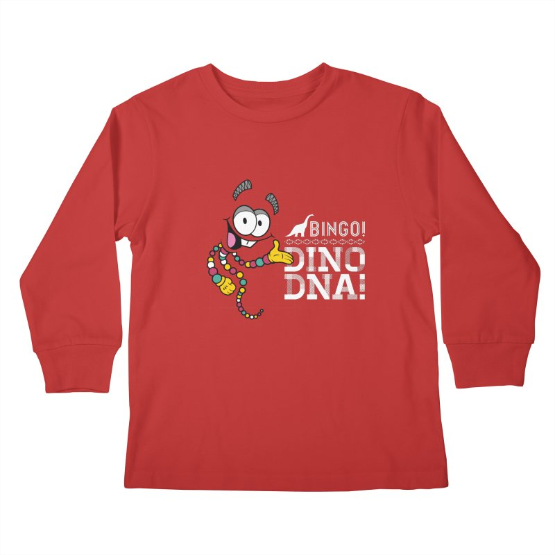 Jurassic Bingo!!! Kids Longsleeve T-Shirt by Mdk7's Artist Shop