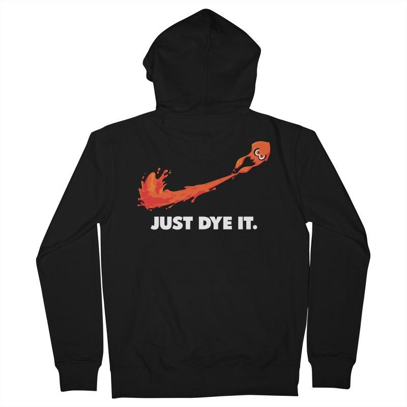 Just Dye It.  Men's French Terry Zip-Up Hoody by Mdk7's Artist Shop