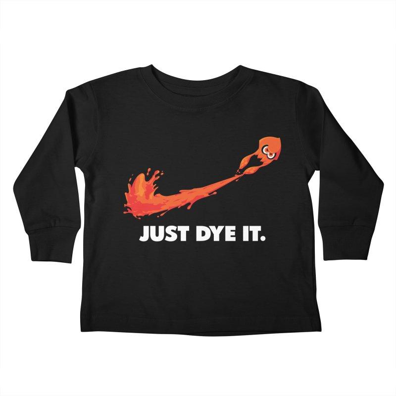 Just Dye It.  Kids Toddler Longsleeve T-Shirt by Mdk7's Artist Shop