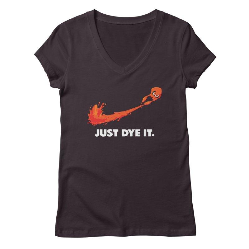 Just Dye It.  Women's Regular V-Neck by Mdk7's Artist Shop