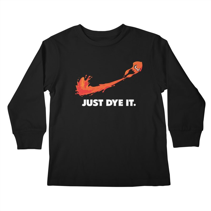 Just Dye It.  Kids Longsleeve T-Shirt by Mdk7's Artist Shop
