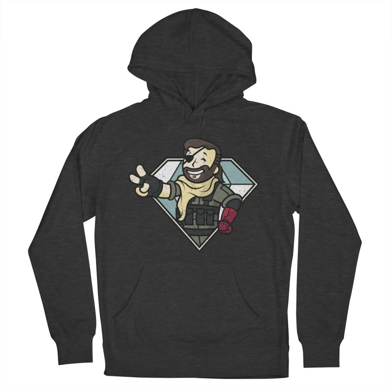 Vault Boss! Men's French Terry Pullover Hoody by Mdk7's Artist Shop