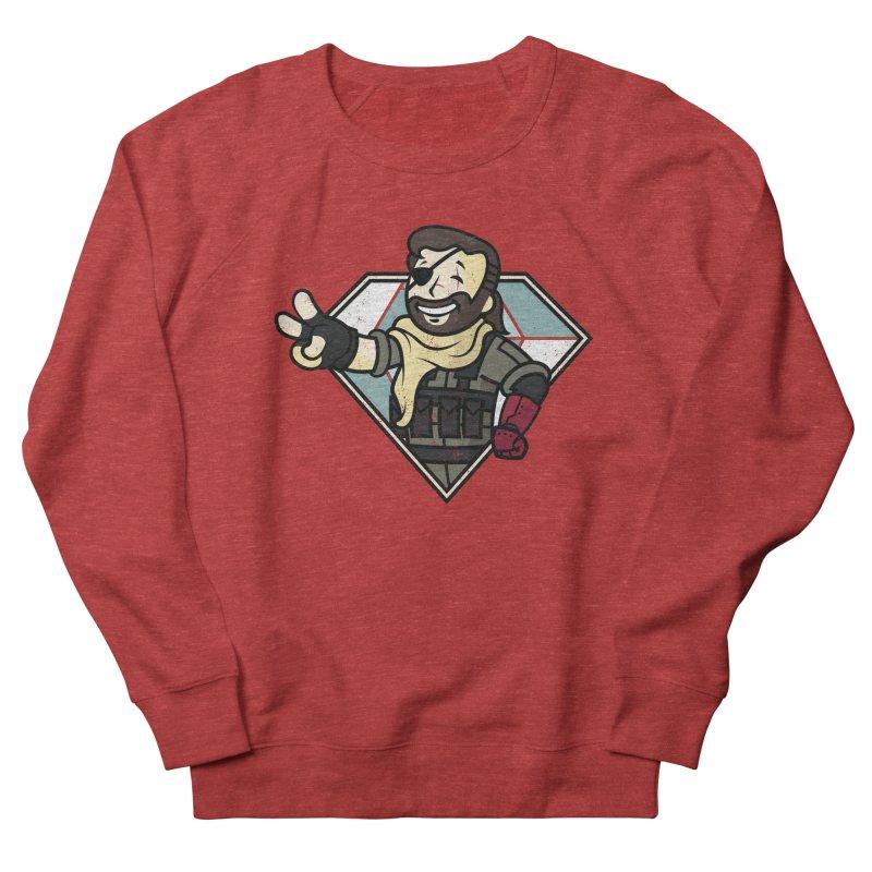 Vault Boss! Men's French Terry Sweatshirt by Mdk7's Artist Shop