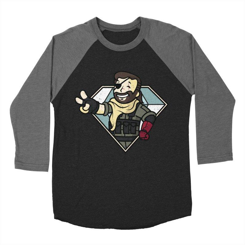 Vault Boss! Women's Baseball Triblend T-Shirt by Mdk7's Artist Shop