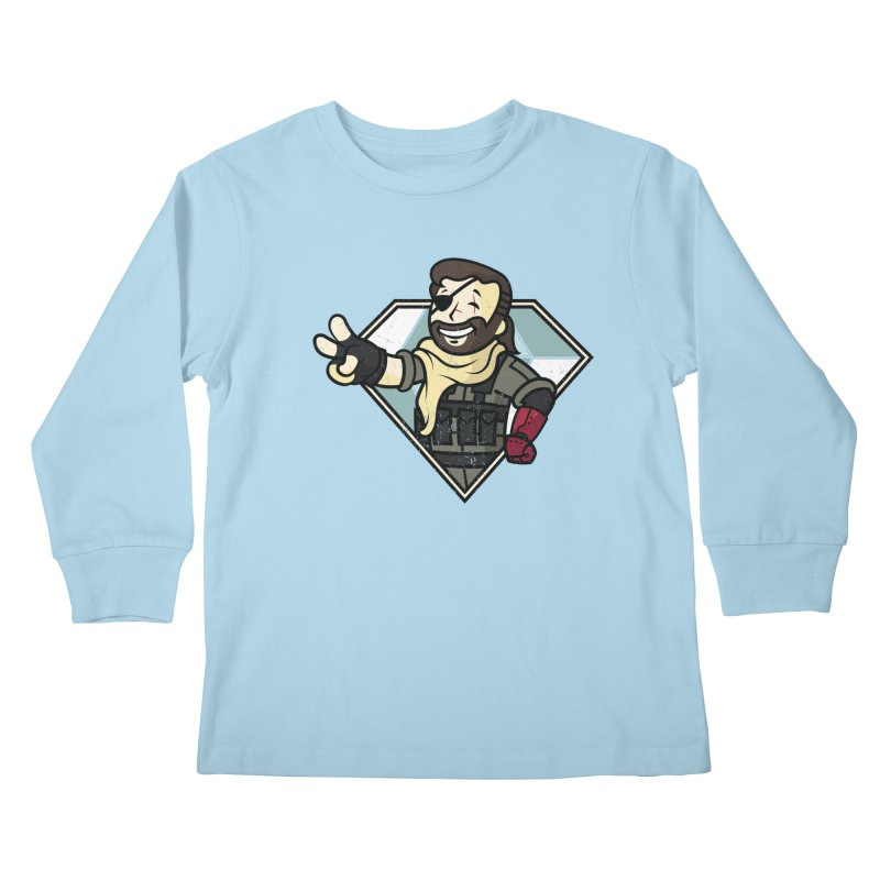 Vault Boss! Kids Longsleeve T-Shirt by Mdk7's Artist Shop