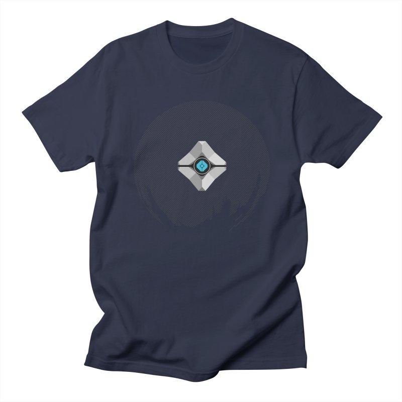 Minimal moon companion Men's T-Shirt by Mdk7's Artist Shop