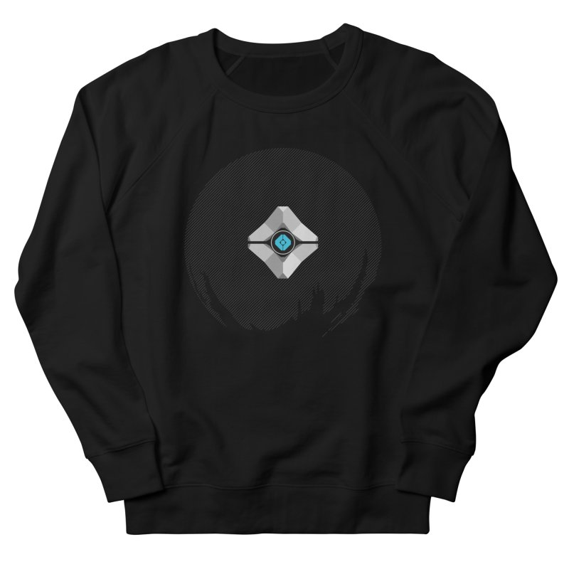 Minimal moon companion Women's French Terry Sweatshirt by Mdk7's Artist Shop