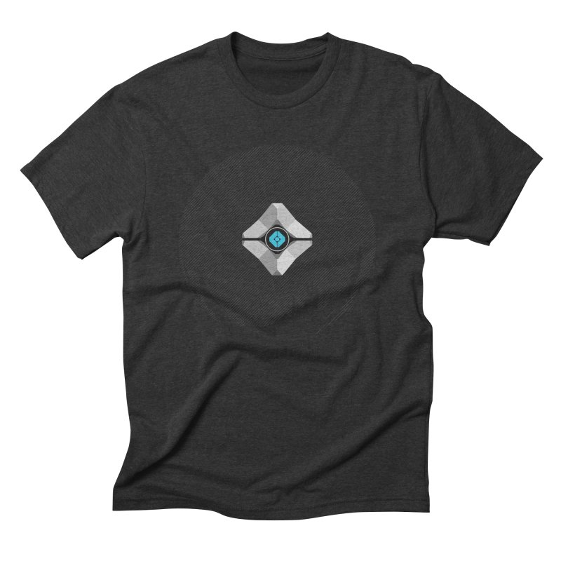 Minimal moon companion Men's Triblend T-Shirt by Mdk7's Artist Shop