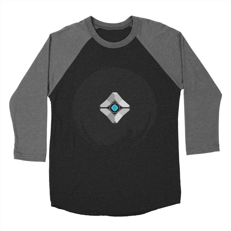 Minimal moon companion Women's Baseball Triblend Longsleeve T-Shirt by Mdk7's Artist Shop