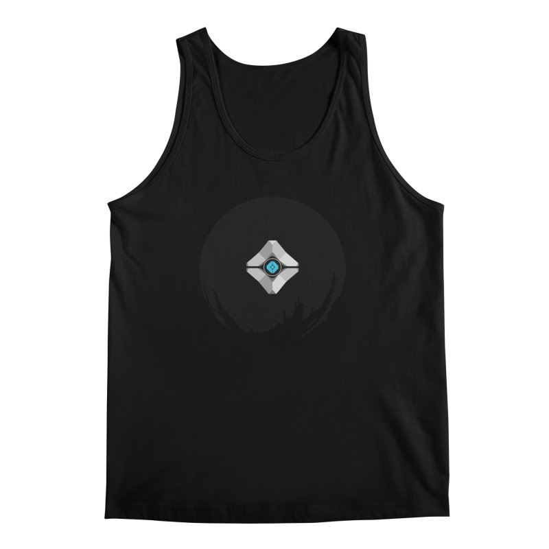 Minimal moon companion Men's Regular Tank by Mdk7's Artist Shop