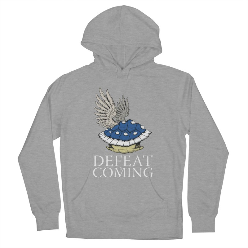 Defeat is coming Women's French Terry Pullover Hoody by Mdk7's Artist Shop