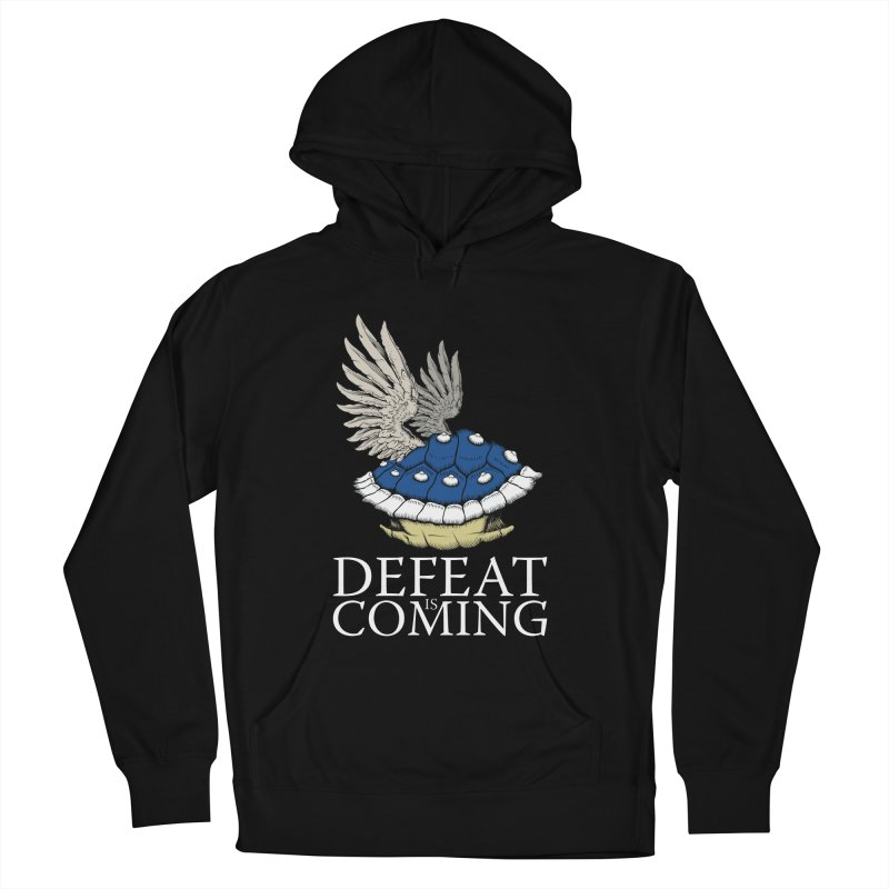 Defeat is coming Men's French Terry Pullover Hoody by Mdk7's Artist Shop