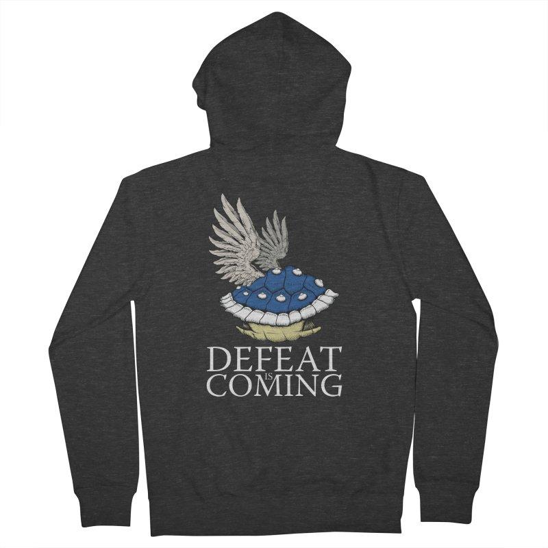 Defeat is coming Women's Zip-Up Hoody by Mdk7's Artist Shop