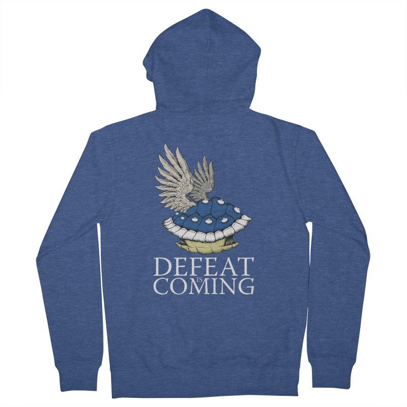 Defeat is coming Men's Zip-Up Hoody by Mdk7's Artist Shop